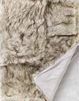 Cheyenne Fake Fur Bontplaid